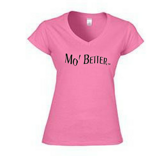 V-neck fitted t-shirt