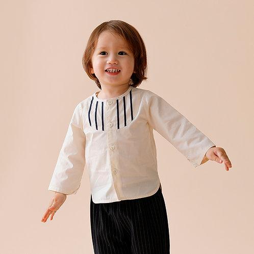 SAMPLE / ライン入りシャツ