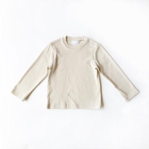 SAMPLE / フライス肩開きTシャツ