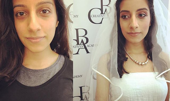 Week Two - Bridal__#makeup #mua #training #makeuptraining #models #creative #trysomethingnew #makeuplover #newskills #birmingham #jewellreyq