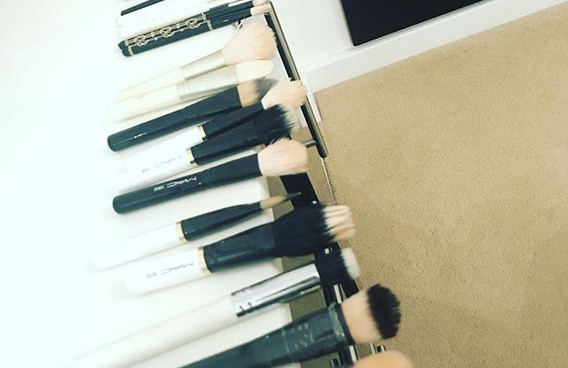 Who doesn't love clean brushes 😍😍😍 _fentybeauty foundation brush__nyxcosmetics_uk foundation brush__maccosmeticsuk makeup brushes__#makeup #