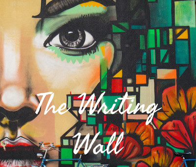 INTERVIEW & PODCAST:                     The Writing Wall