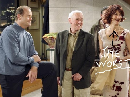 """The Character who Nearly Ruined (But May Have Secretly Saved) """"Frasier"""""""