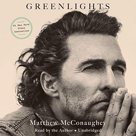 Performance Anxiety, Hobbits, & Matthew McConaughey