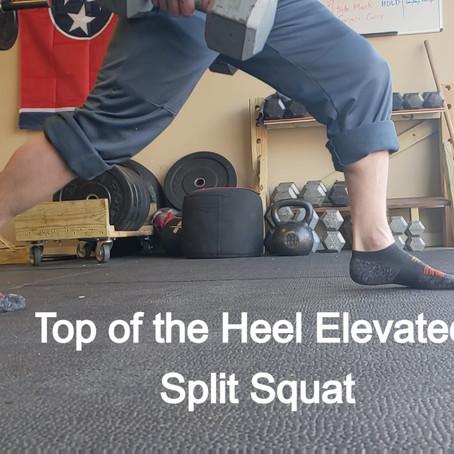 Strong Feet, Quick Athlete! -- Heel Elevated Training