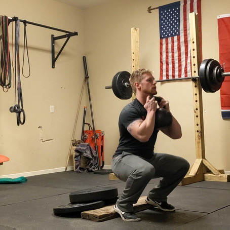 Front Squat For Athleticism and Mobility