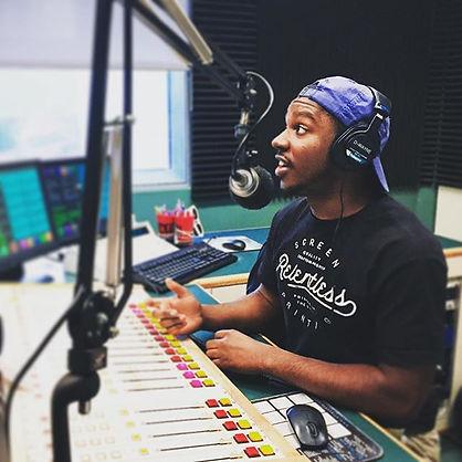 D-Wayne on the Radio