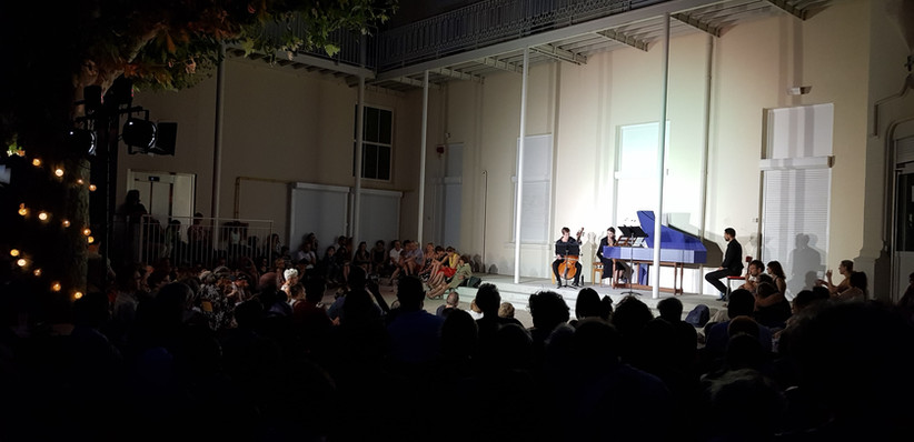 An evening hymn to Henry Purcell, Tout L'Monde Dehors, 26-07-19