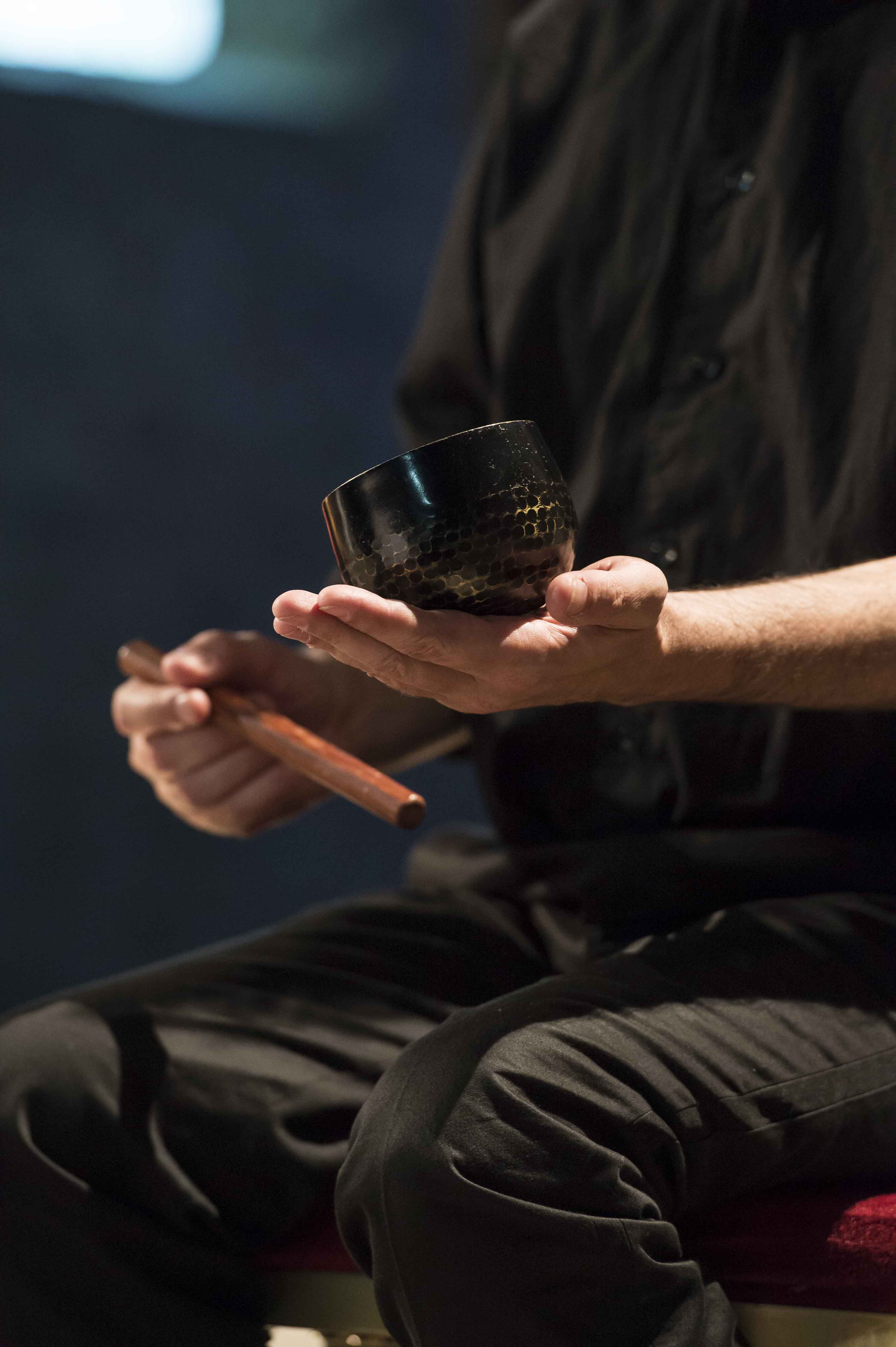 détail bol tibétain