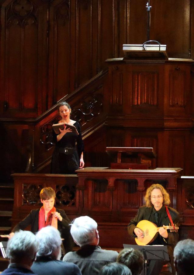 Liesse, esbatement & alegrença, Les Rendez-vous de Musique Anciennce, ensemble Céladon 09-03-19