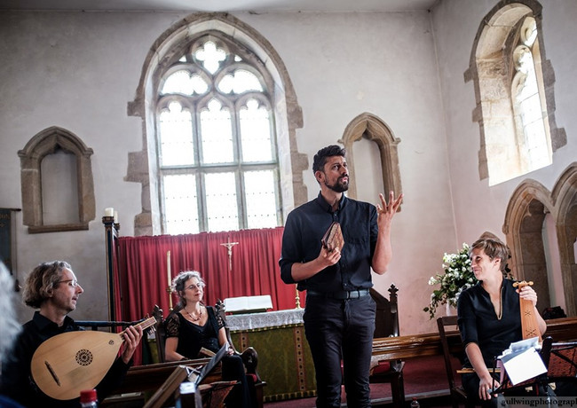 Nuits Occitanes, ensemble Céladon, Mediaeval Music in the Dales, 07-09-19