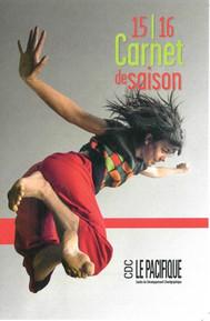 Couverture carnet de saison Le Pacifique