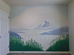 Mt Washington, Montana, mural artist, Co