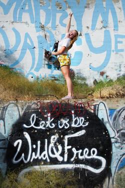 graffiti, street art, print, floral, jea
