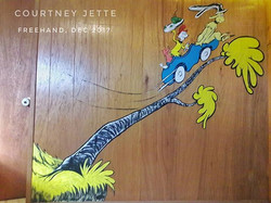 Dr. Seuss inspired playroom