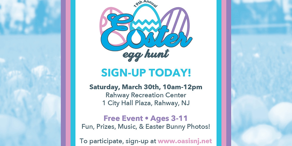 19th Annual Easter Egg Hunt 2019