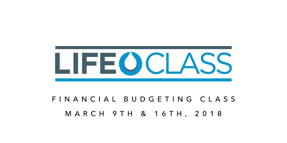 Financial Budgeting Life Class
