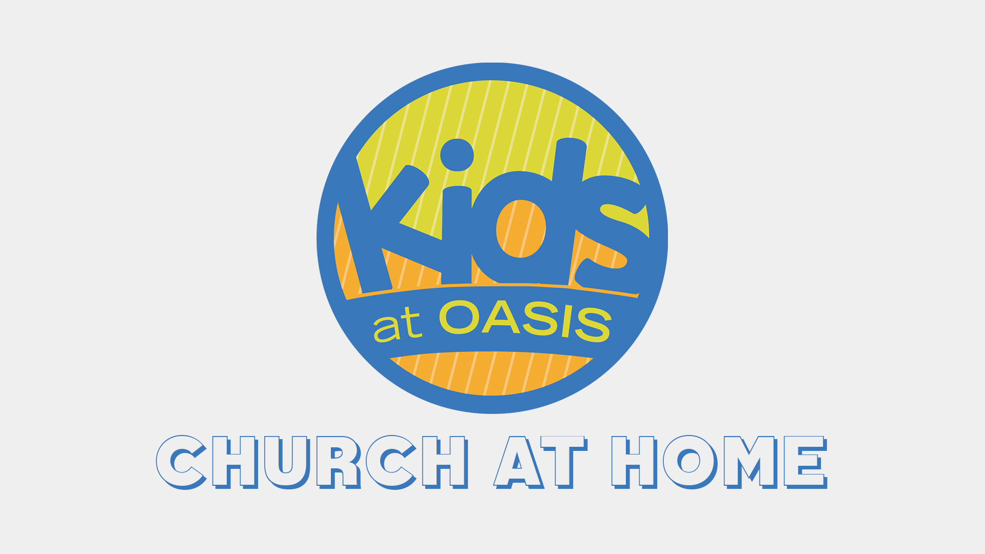 Kids Church at Home