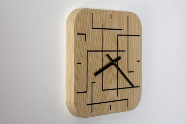 Horloge frêne