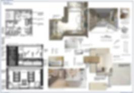Architectural design survey - Julie Kent Interiors bathroom design Bath London Wiltshire
