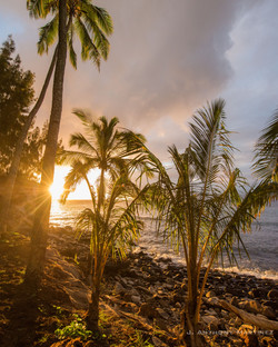 mau+loa+beach+sunset