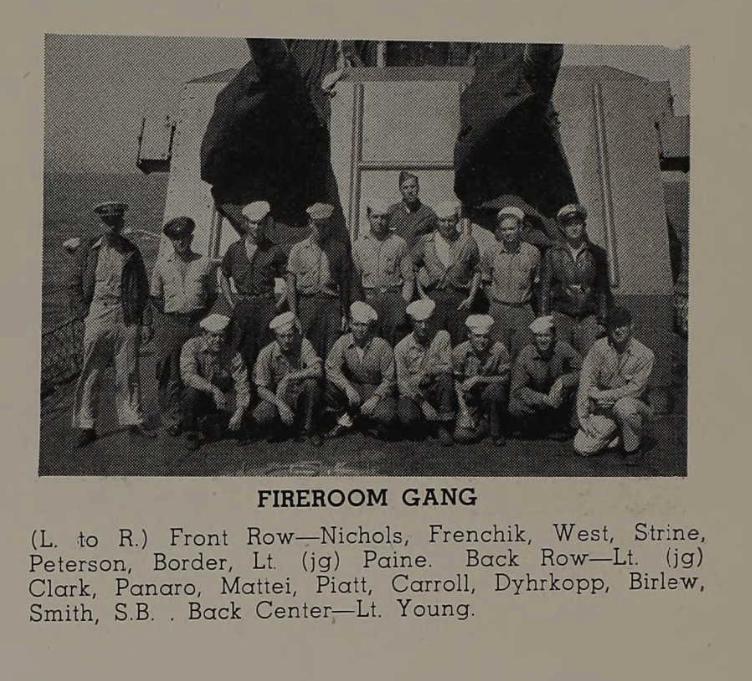 В армии: слева в первом ряду