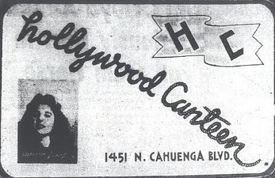 Пропуск Жоржетты в Hollywood Canteen