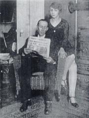 Генри Миллз с дочерью Шарлоттой