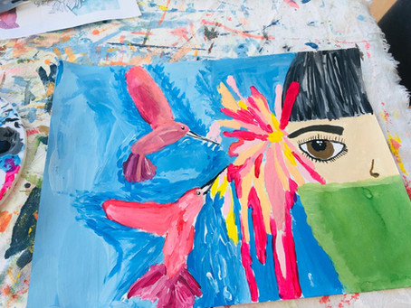 Frida's Masterpiece March 2021