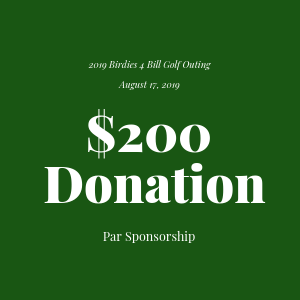 Donation to The Bill Rohn Foundation $200