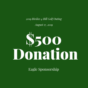 Donation to The Bill Rohn Foundation $500