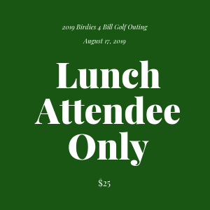 Golf Outing - Lunch Attendee Only