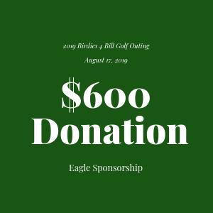 Donation to The Bill Rohn Foundation $600