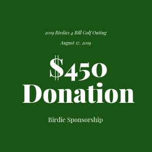 Donation to The Bill Rohn Foundation $450