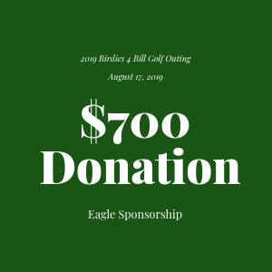 Donation to The Bill Rohn Foundation $700