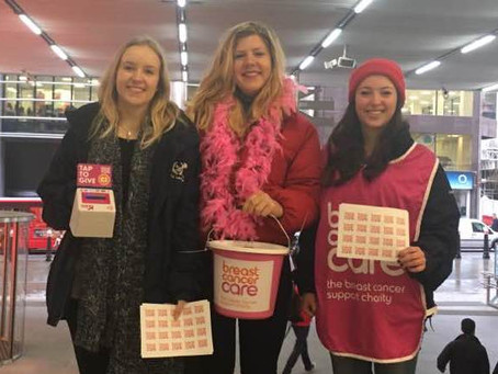 Breast Cancer Care Bucket Collections