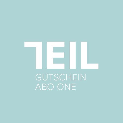 GUTSCHEIN ABO ONE