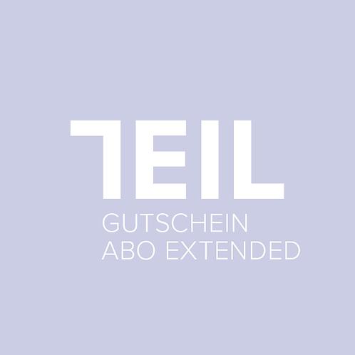 GUTSCHEIN ABO EXTENDED