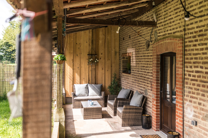 Lounge in der Veranda