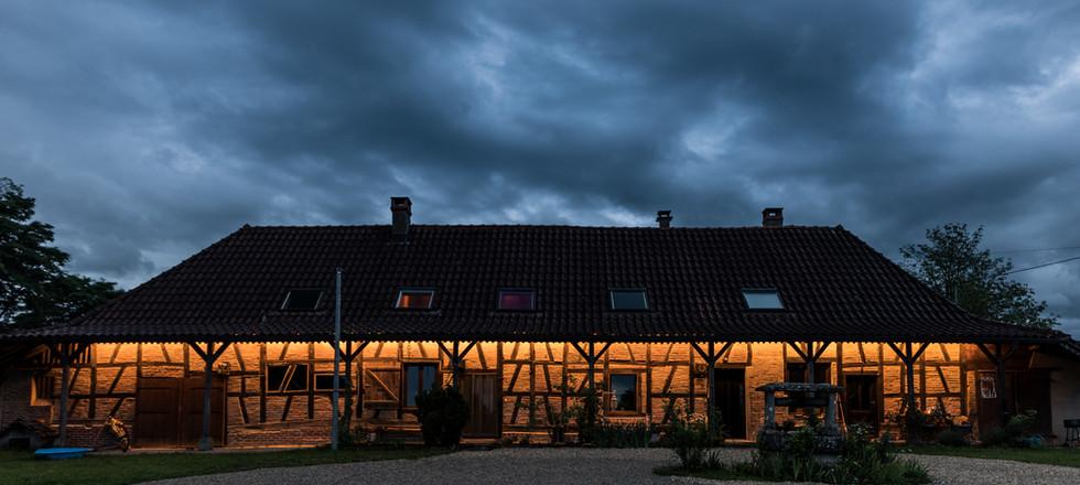 Beleuchtung Haus-Vorderseite