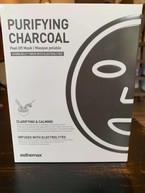 Purifying Charcoal Hydrojelly Mask