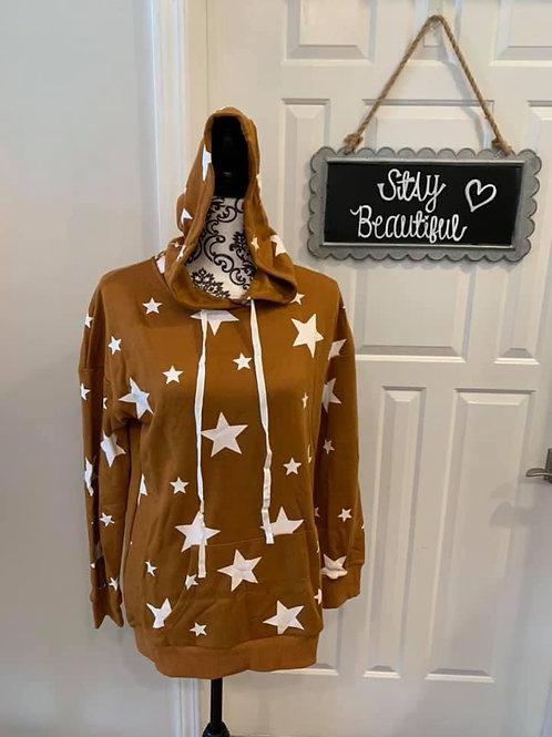 Mustard Star Hoodie