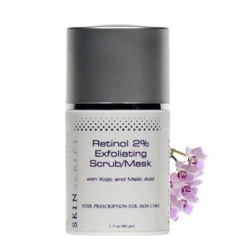 Skinscript Retinol 2% Exfoliating Scrub