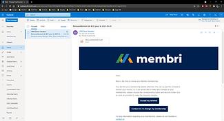 Member management dashboard