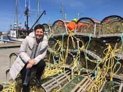 Hélène Laurendeau et cages homards