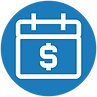Management of funding requests icon