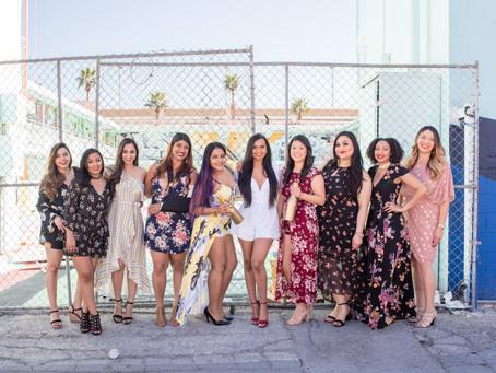 Indi's Las Vegas Bachelorette Party | Downtown Las Vegas Art Mural Photo Walk