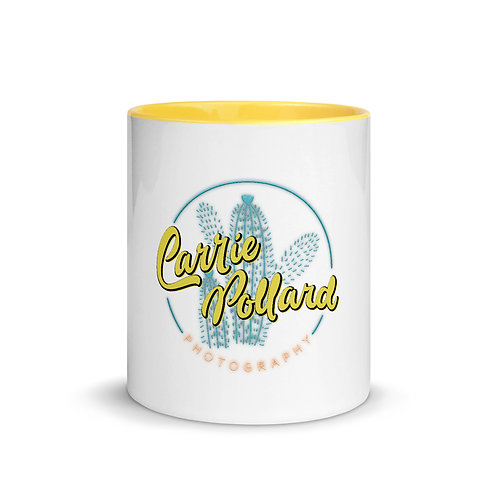Carrie Pollard Photography Coffee Mug Yellow inside