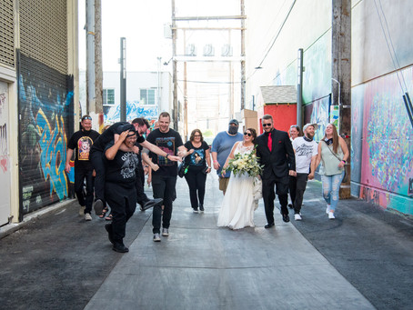 Allyson + Dave | Rock n' Roll Theme Wedding | Las Vegas Weddings and Elopements