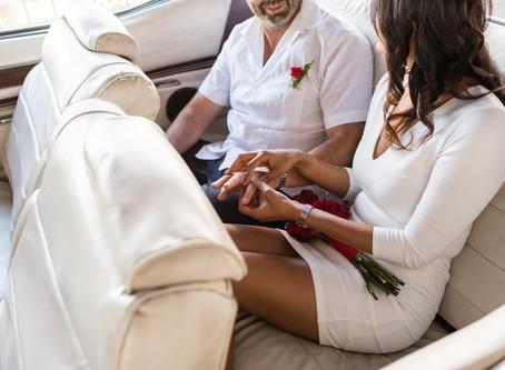 Heena + Patrick | Little White Wedding Chapel + Downtown Las Vegas, NV |Las Vegas Weddings